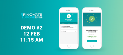 Finovate Europe 2019 London Tobacco Dock