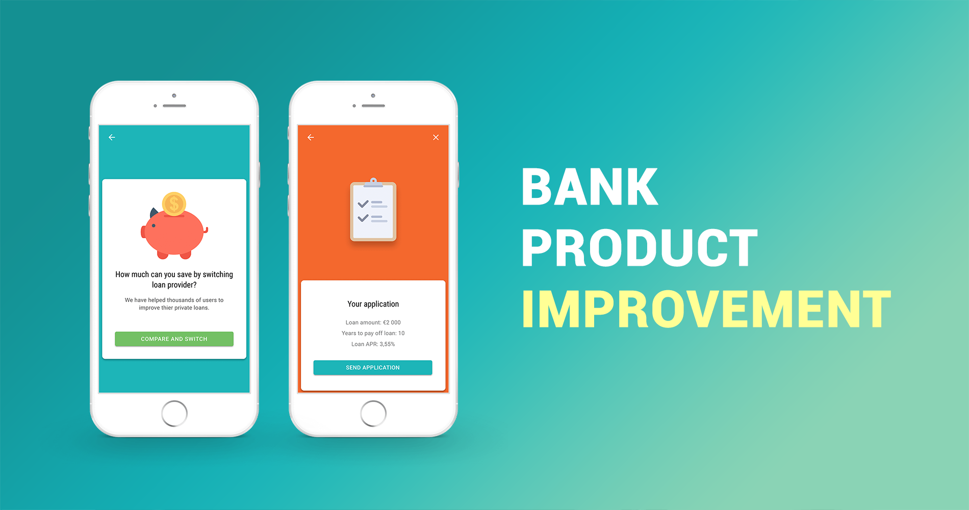 Bank Product Improvement | Minna Technologies