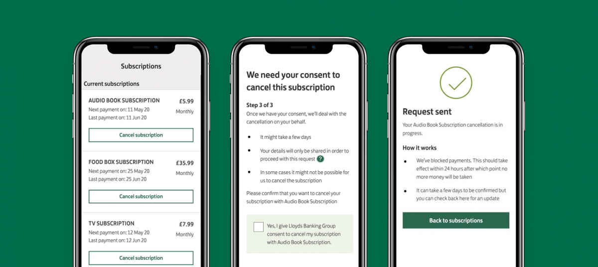 Lloyds Bank Adds Subscription Management Service To Its Mobile App In Partnership With Minna Technologies And Visa